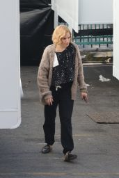 Sienna Miller - On the Set of