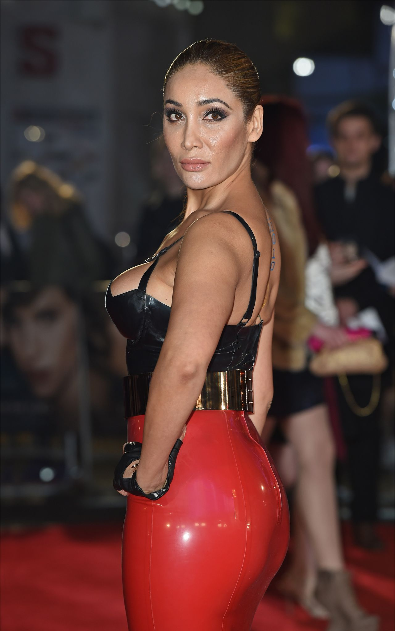 The British-Indian model and singer Sofia Hayat
