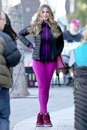 Sofia Vergara Booty in Tights -