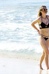 Suki & Immy Waterhouse Bikini Candids - Beach in Barbados 12/27/2015