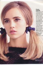 Suki Waterhouse - Glamour Magazine UK January 2015 Issue