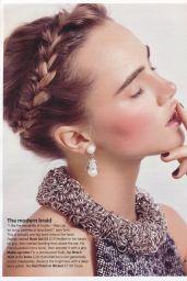 Suki Waterhouse - Glamour Magazine UK January 2015 Issue