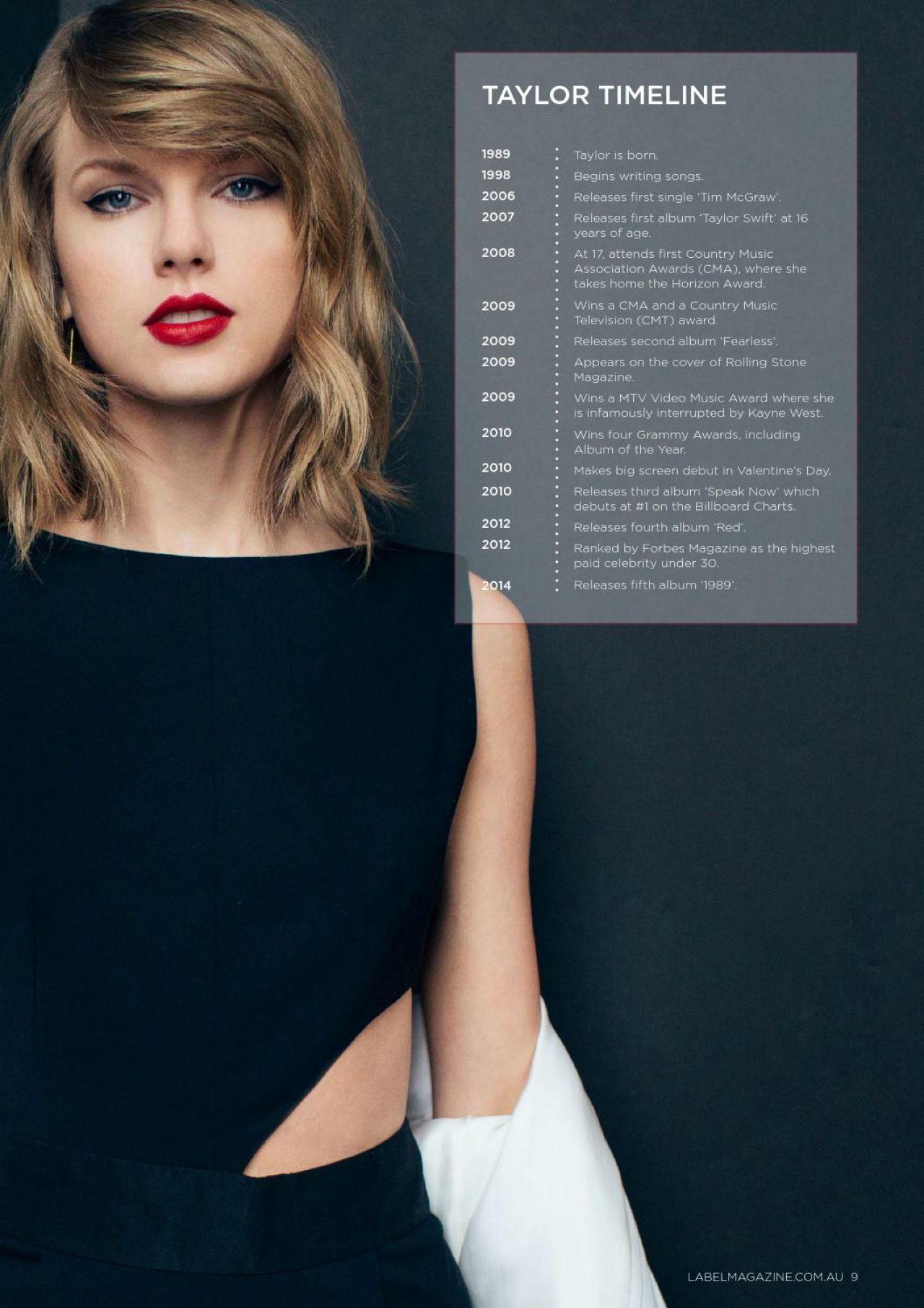 Taylor Swift Label Magazine Summer 2016 Issue