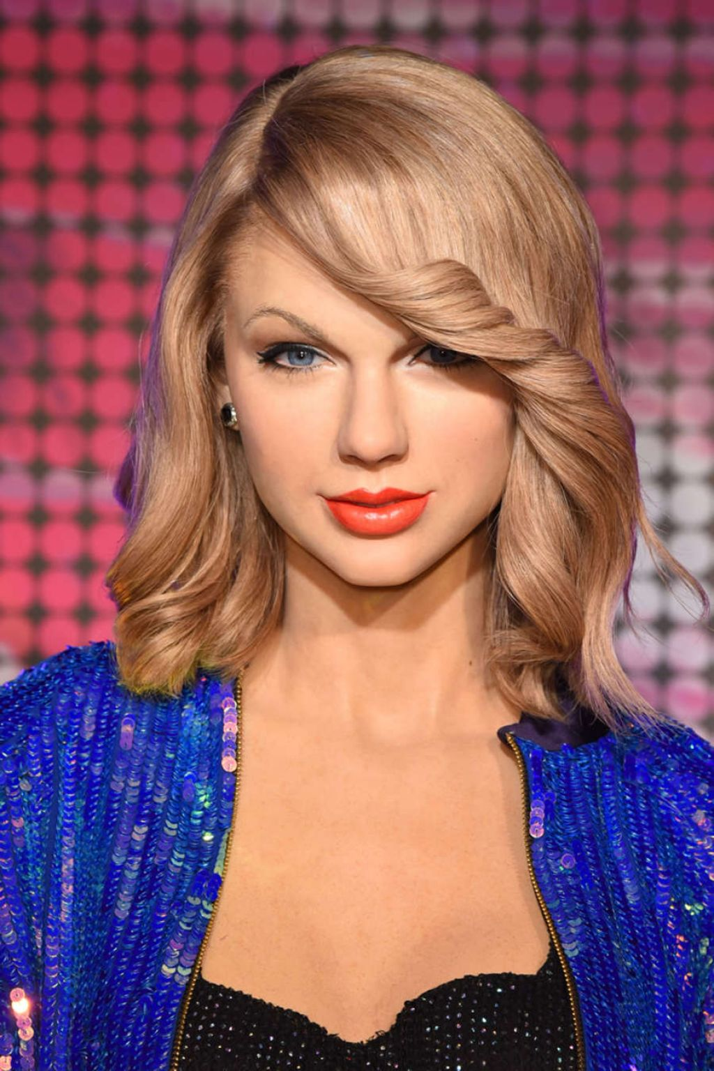 Taylor Swift Unveiling Of Her Wax Figure At Madame
