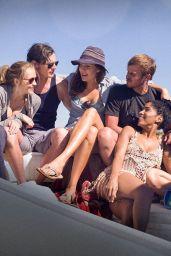 Teresa Palmer, Maggie Grace & Alexandra Daddario - The Choice Promo Pics