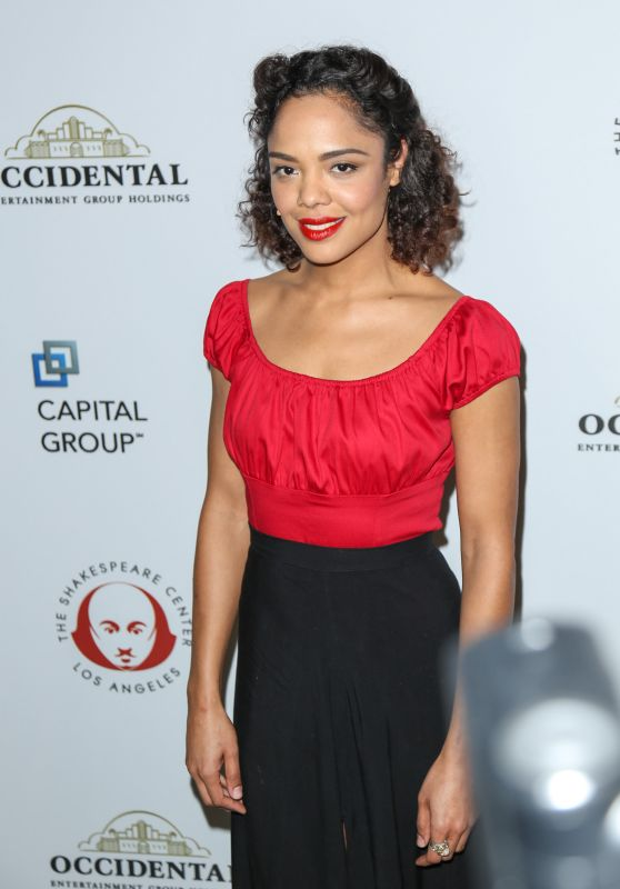 Tessa Thompson - 2015 Simply Shakespeare Benefit in LA