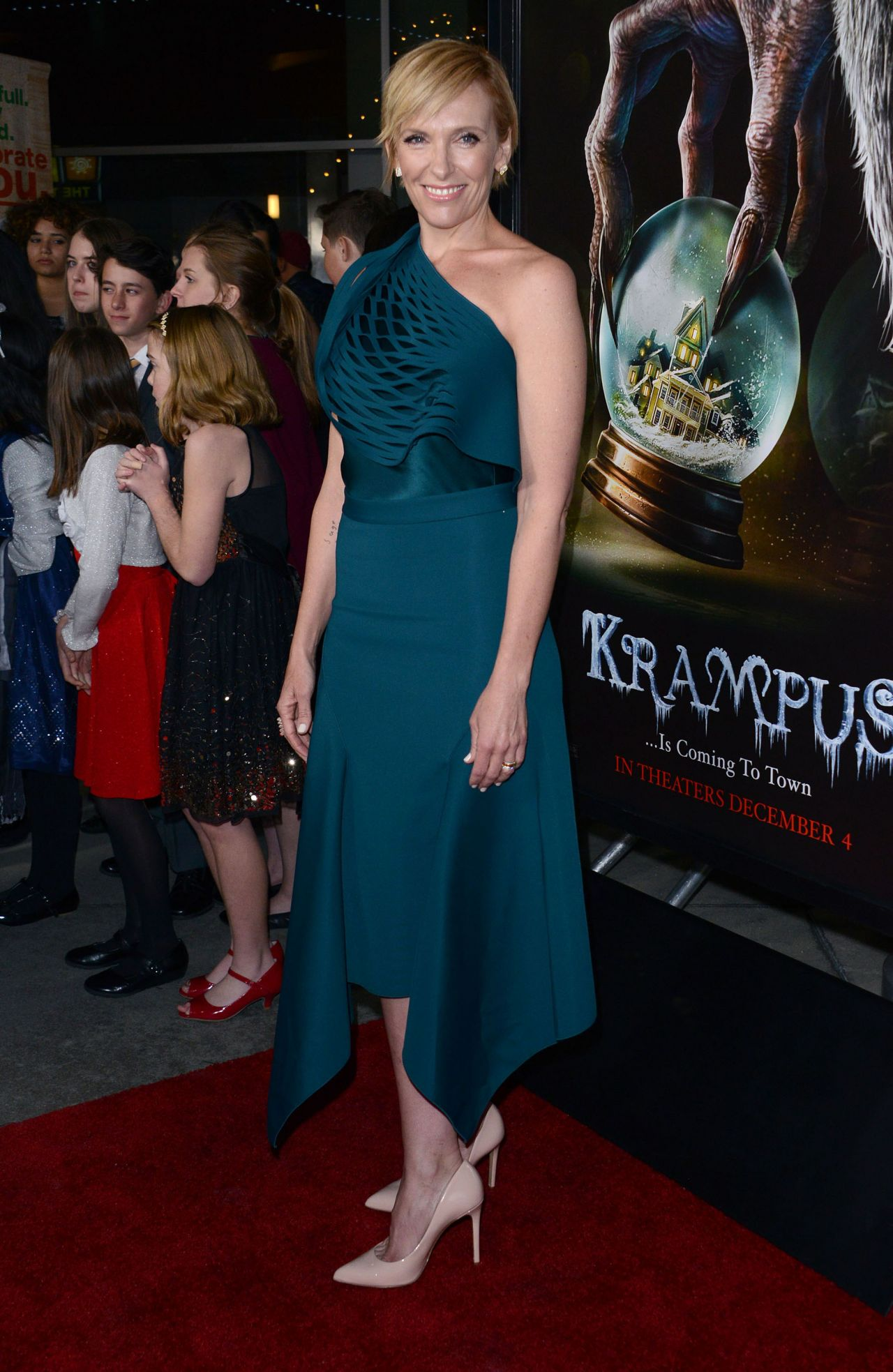 Toni Collette Universal Pictures Krampus Screening In
