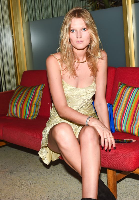 Toni Garrn - Festivals Are Good Book Signing Celebration in Miami, December 2015