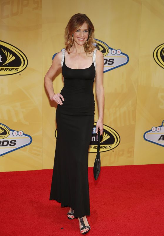 Tricia Helfer - NASCAR Sprint Cup Series Auto Racing Awards in Las Vegas, December 2015