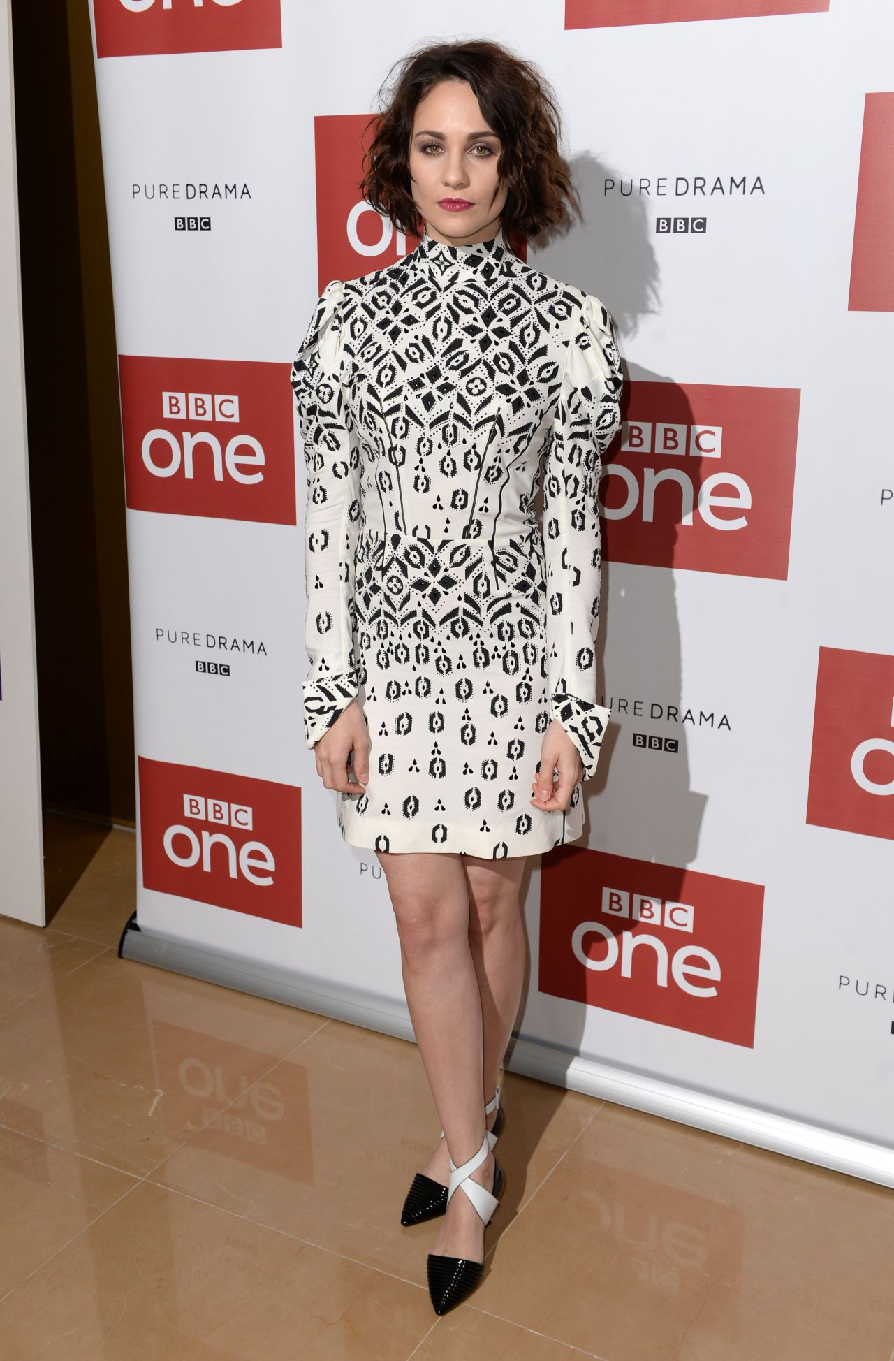 Tuppence Middleton War Amp Peace Tv Series Photocall In