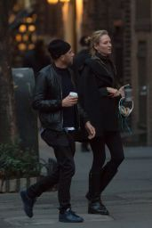 Uma Thurman Out in New York City, December 2015