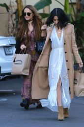 Vanessa and Stella Hudgens Casual Style - Out in Studio City, 12/24/2015