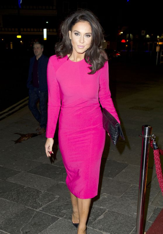Vicky Pattison Night Out Style - Newcastle 12/21/2015