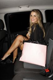 Vogue Williams - The Sunday Times Style Christmas Party at Tramp Nightclub in London 12/9/2015