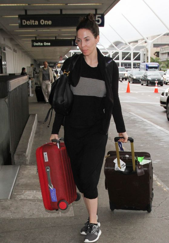 Whitney Cummings at Los Angeles International Airport 12/22/2015