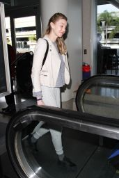 Whitney Port at LAX in Los Angeles, 12/9/2015