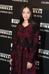 Yao Chen - The Pirelli Calendar 2016 Annie Leibovitz Launch in London