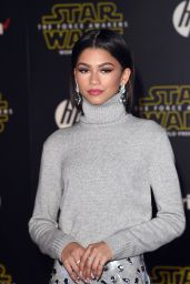 Zendaya – Star Wars: The Force Awakens Premiere in Hollywood