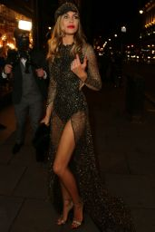 Abbey Clancy - Her 30th Birthday Celebration in London, January 2016