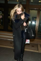 Abbey Clancy Street Fashion - Britain