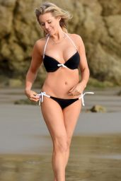 Abi Titmuss Bikini Photos - Beach in Malibu 01/01/2016