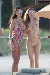 Aida Yespica Bikini Pics - Miami Beach, January 2016