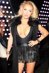 Aisleyne Horgan-Wallace Night Out Style - London 1/9/2016