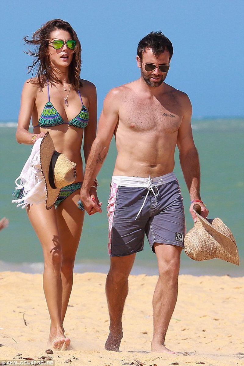 Brazil bikini beach