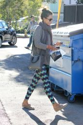 Alessandra Ambrosio - Out in Brentwood 1/12/2016