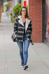 Alessandra Ambrosio - Out in Los Angeles 1/19/2016
