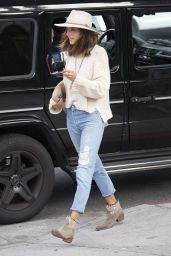 Alessandra Ambrosio Street Style -  Leaving