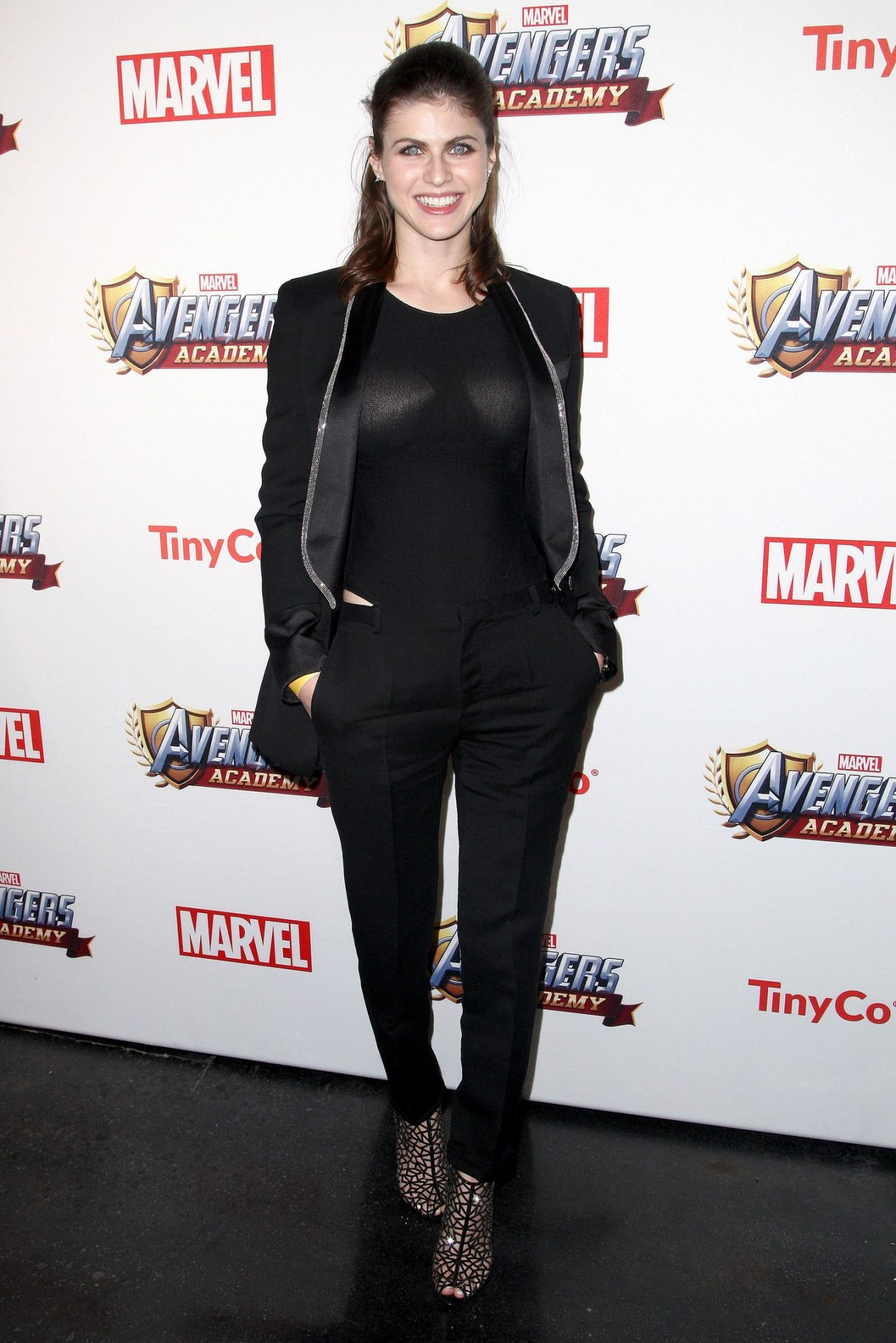 Alexandra Daddario - MARVEL Avengers Academy's Party in Los Angeles ...