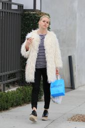 Alice Eve Casual Style - Shopping at Kitson in Beverly Hills, January 2016