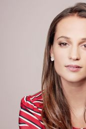 Alicia Vikander - BAFTA Awards Season Tea Party Portraits January 2016