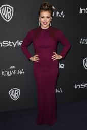 Alyssa Milano – InStyle And Warner Bros. 2016 Golden Globe Awards Post-Party in Beverly Hills