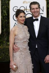 Amanda Peet – 2016 Golden Globe Awards in Beverly Hills