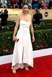 Amanda Peet – SAG Awards 2016 at Shrine Auditorium in Los Angeles