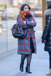 America Ferrera Winter Style - Out in NYC 1/5/2016