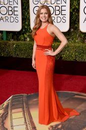 Amy Adams – 2016 Golden Globe Awards in Beverly Hills