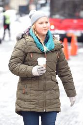 Amy Schumer - Set of