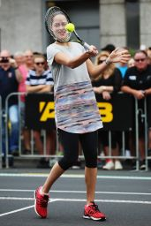 Ana Ivanovic Taking Part in an Exhibition Tennis Match in Auckland, NZ 1/3/2016