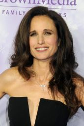 Andie MacDowell – 2016 Winter TCA Tour – Hallmark Channel Party in Los Angeles