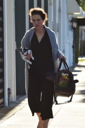 Andie MacDowell - Running Errands With Her Dog in West Hollywood 1/26/2016