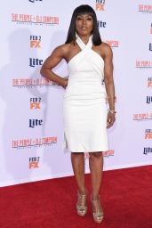 Angela Bassett – 'The People v. O.J. Simpson: American Crime Story' Premiere in Westwood