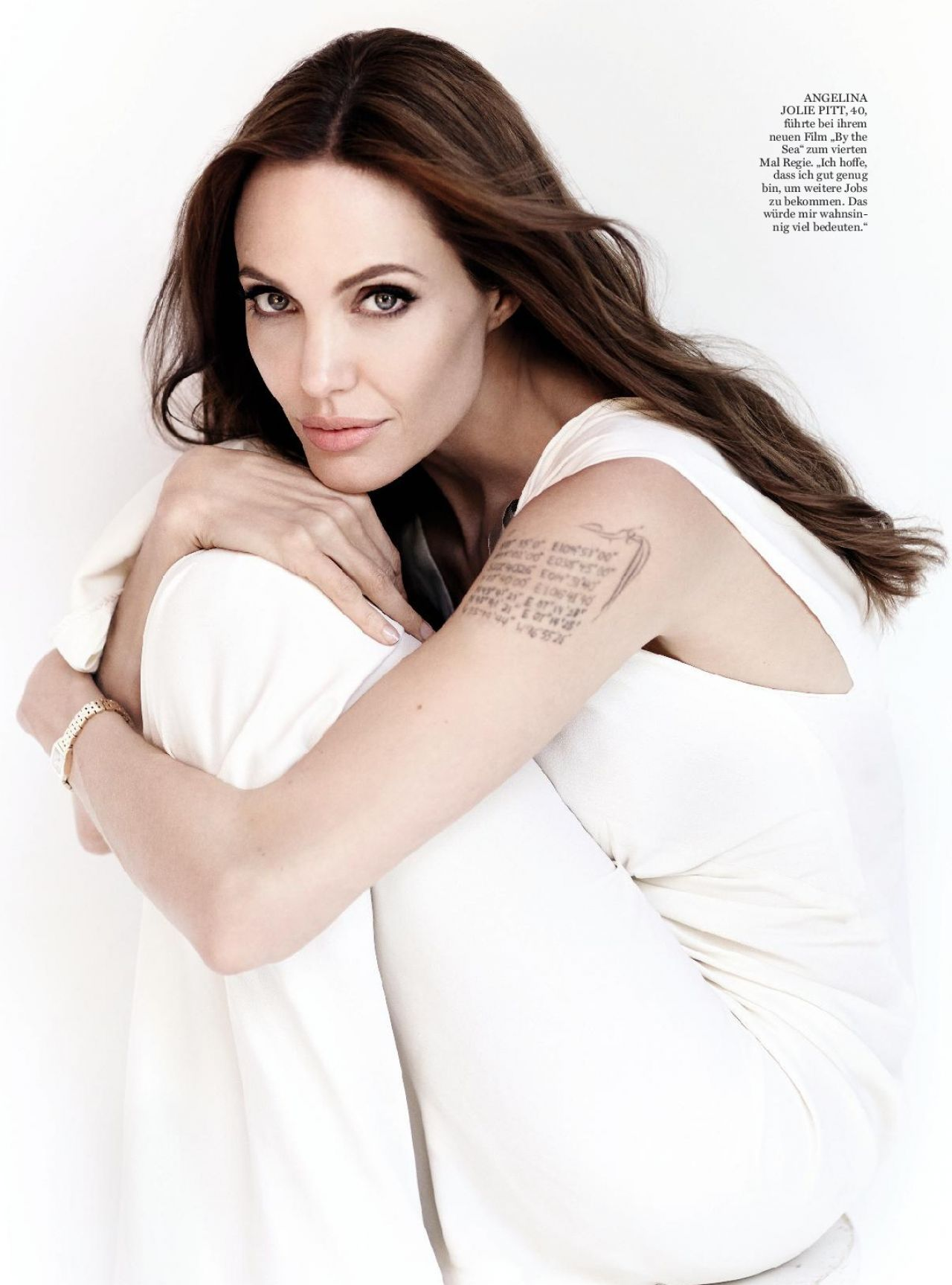 Angelina Jolie – InStyle Magazine Germany January 2016 Issue