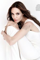 Angelina Jolie - InStyle Magazine Germany January 2016 Issue