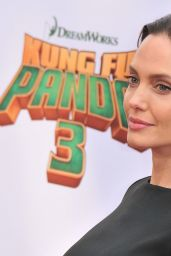 Angelina Jolie on Red Carpet – 'Kung Fu Panda 3' Premiere in Hollywood