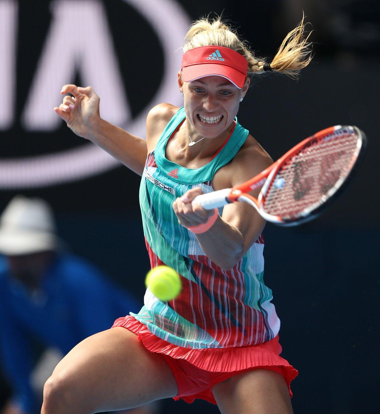 Angelique Kerber 2016 Australian Open In Melbourne
