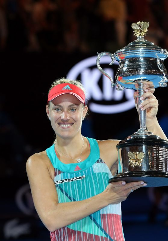 Angelique Kerber – Australian Open 2016 Winner
