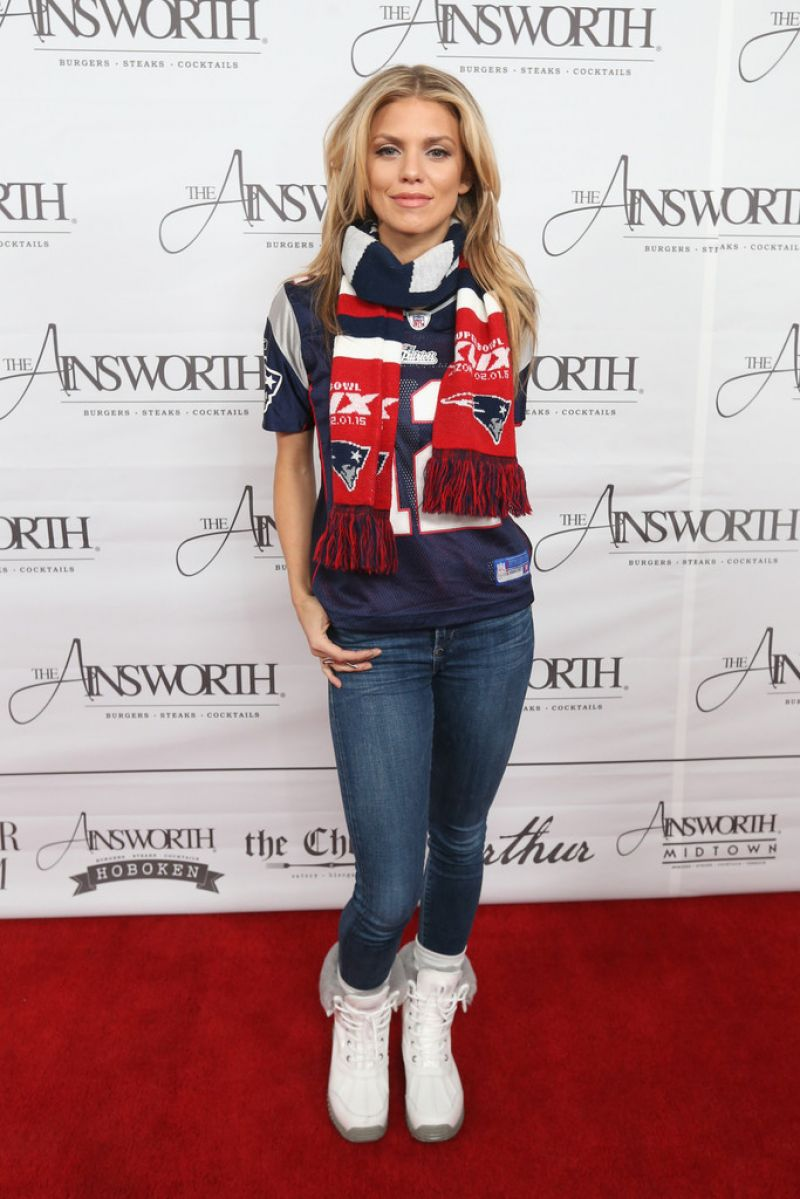 Annalynne Mccord Ainsworth Football Viewing Party In